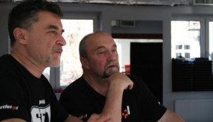 Trenerzy Jarosław Soroko i Andrzej Gmitruk (fot. archiwum prywatne)