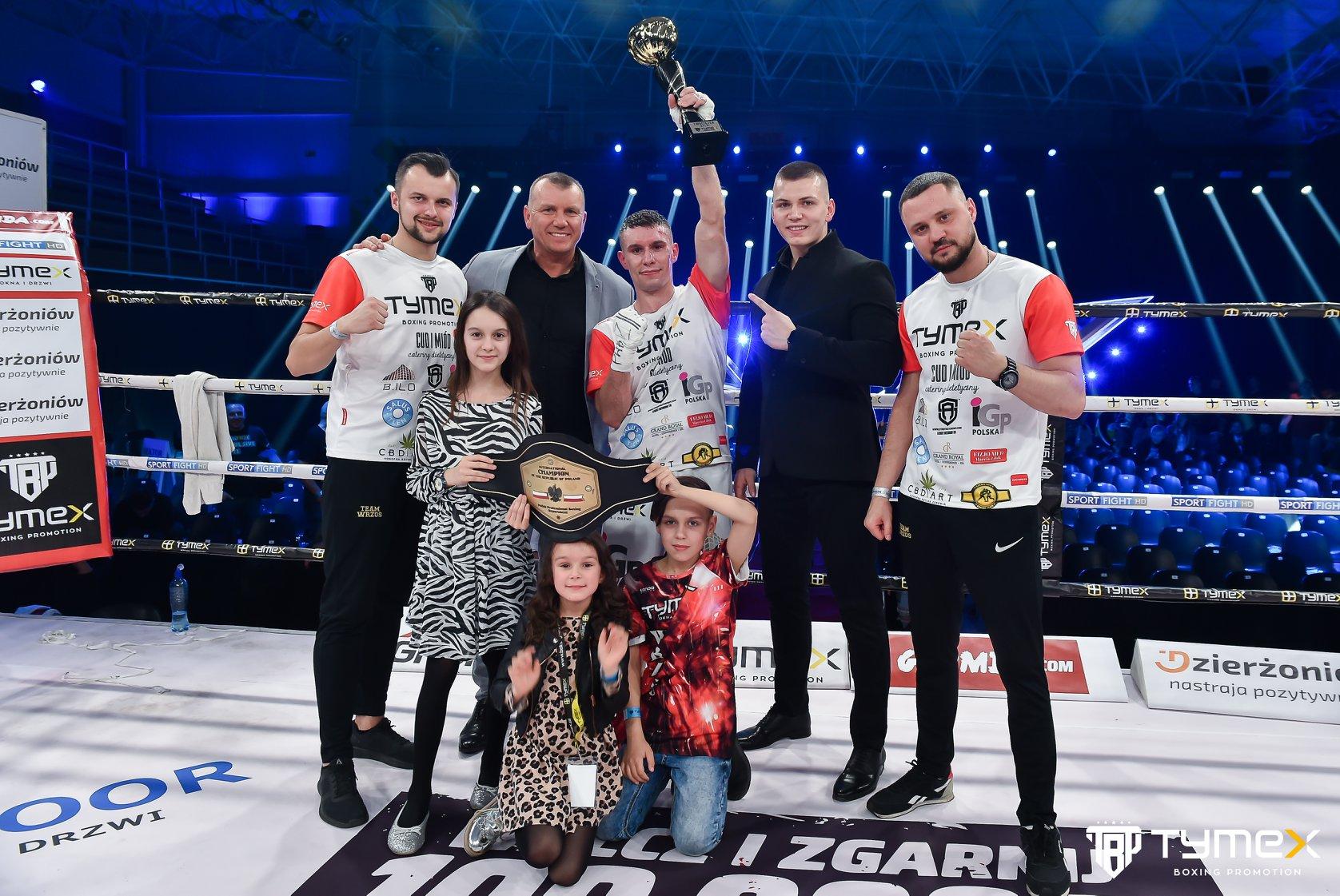 TYMEX Boxing Night 12 - Wrzesiński