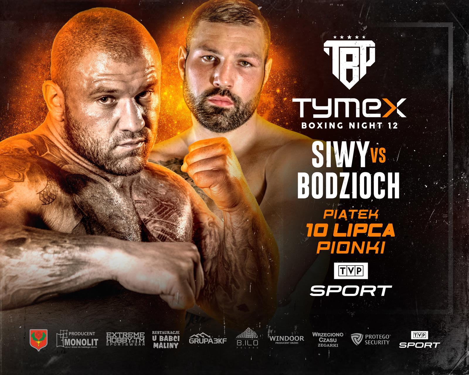 """""""Tymex Boxing Night 12"""" Kamil Bodzioch: jestem zdecydowanie szybszy od Marcina Siwego"""