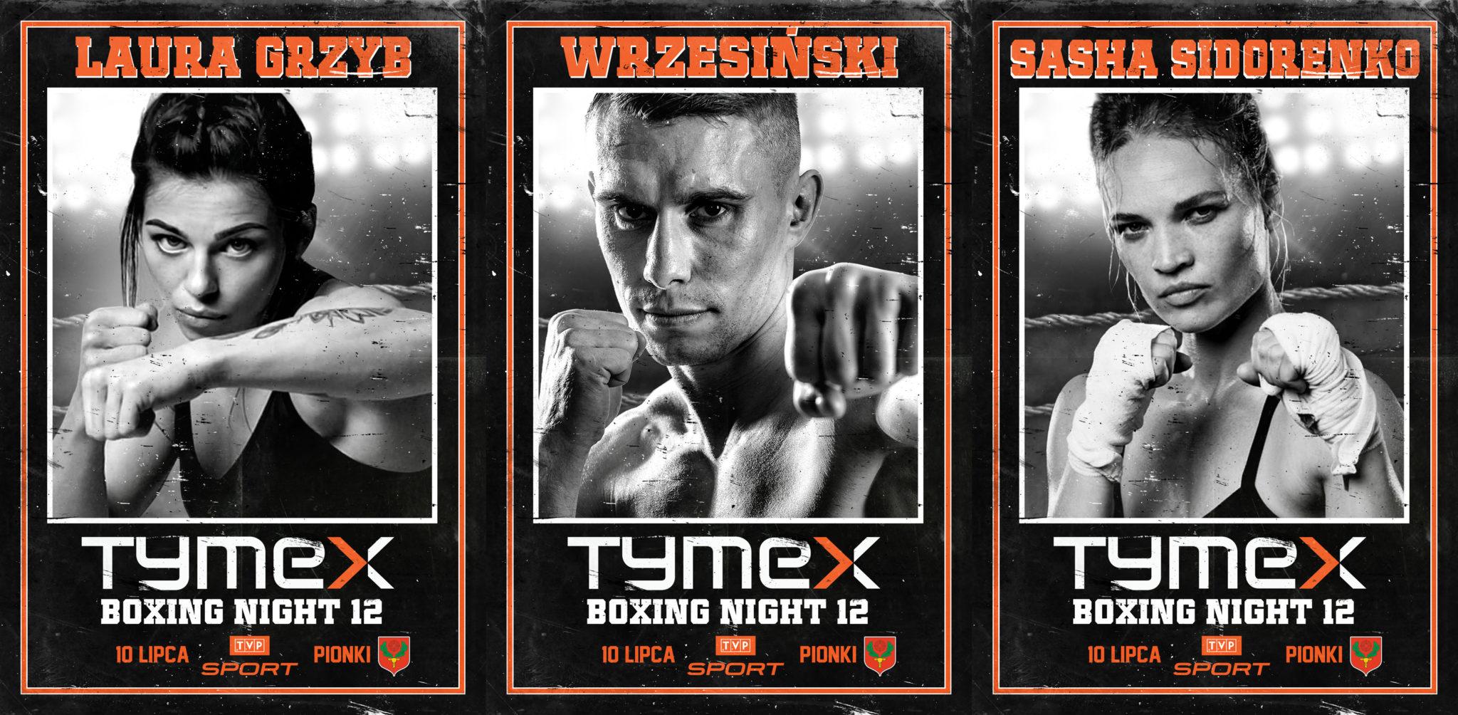 TYMEX Boxing Night 12 - TVP Sport - Pionki - 10 lipca